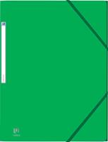 Elba Oxford Eurofolio elastomap, voor ft A4, groen