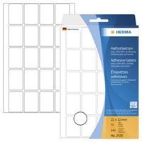 herma Multifunctionele Etiketten 2430 A4 22 x 32 mm Wit Rechthoekig 32 Vellen van 220 Etiketten