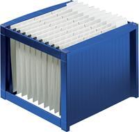 helit Hangmappenrek H6110034 A4 Blauw PP 36 x 38 x 26 cm