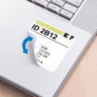 herma Verwijderbare Etiketten 10108 Wit Vierkant 600 Etiketten per pak