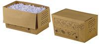 Rexel recycleerbare opvangzakken voor papiervernietiger 20 l, voor Auto+80X, pak van 20 zakken
