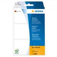 Etiketten - Herma
