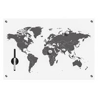 Home24 Memobord Worldmap, home24