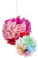 Bloemenzijde Folia 50x70cm gevouwen naar 12,5x25cm 5 vel    rose