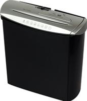 Genie 245 CD papiervernietiger Reepversnippering 22 cm 72 dB Zwart, Zilver