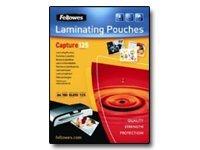 fellowes Laminating Pouches Capture 125 micron - 100 - 75 x 105 mm lamineerhoezen
