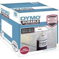 dymo Rol met etiketten 159 x 104 mm Polypropileen folie Wit 200 stuk(s) Permanent 1933086 Universele etiketten, Adresetiketten