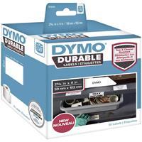 dymo Rol met etiketten 54 x 25 mm Polypropileen folie Wit 160 stuk(s) Permanent 1976411 Universele etiketten, Adresetiketten