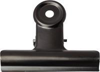 LPC Bulldogclip 51 mm, zwart, doosje van 10