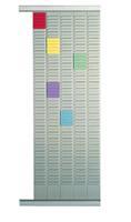 Nobo planbordpaneel index 2, 32 vakjes, ft 66 x 6,4 mm