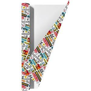Mario Kart Kaftpapier Voor Schoolboeken - 200 X 70 Cm - 3 Rollen