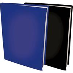 Rekbare Boekenkaften A4 - Donkerblauw En Zwart - 6 Stuks