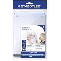 Staedtler Memobord Lumocolor memo board 641 (b x h) 148 mm x 210 mm Transparant Verwijderbare whiteboardfolie incl. 1 whiteboardmarker