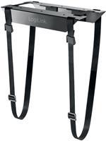 LogiLink EO0009 EO0009 PC-houder Onder tafel Zwart Belastbaar tot: 10 kg