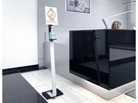 Durable Desinfectie Dispenser Info Zuil Vloer