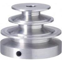 Reely Aluminium V-riemschijf Boordiameter: 6 mm Diameter: 25/30/40 mm
