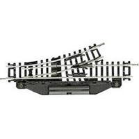 N Fleischmann rails (zonder ballastbed) 22253 Wissel, links 104.2 mm