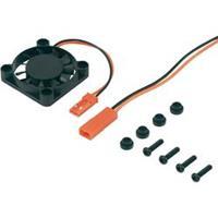 Reely Ventilator voor motorkoelelement Uitvoering kleur Zwart