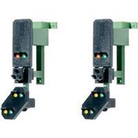 Viessmann 4752 H0 2 Multiplex blok signaal hoofden met voorsein