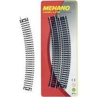Mehano F210 H0 set van 4 bochten