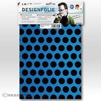 Oracover Easyplot Fun 1 90-051-071-B (l x b) 300 mm x 208 mm Blauw-zwart (fluorescerend)
