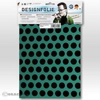 Oracover Easyplot Fun 1 90-017-071-B (l x b) 300 mm x 208 mm Turquoise-zwart