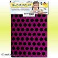 Oracover Orastick Fun 1 45-015-071-B Plakfolie (l x b) 300 mm x 208 mm Violet-zwart (fluorescerend)