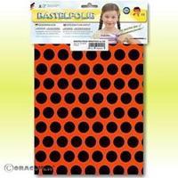 Oracover Orastick Fun 1 45-064-071-B Plakfolie (l x b) 300 mm x 208 mm Rood-oranje-zwart (fluorescerend)