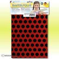 Oracover Orastick Fun 1 45-022-071-B Plakfolie (l x b) 300 mm x 208 mm Lichtrood-zwart