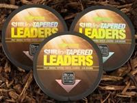 Korda Subline Tapered Leader - 0.33-0.50mm -Brown