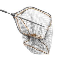 Savage Gear Pro Folding Rubber Large Mesh Landing Net 'Large' (65x50cm)