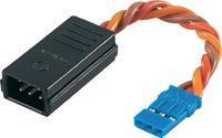 Servo Y-kabel [2x JR-stekker - 1x JR-bus] 0.50 mm² verdraaid Modelcraft