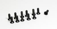 Flat Cross Screw 3x10 (12) Buggy/Truggy (1230048)