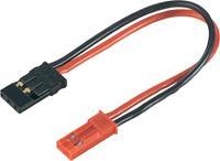 Accu Adapterkabel [1x BEC bus - 1x JR-bus] 100 mm 0.50 mm² Modelcraft