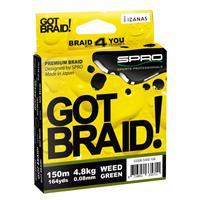Spro Got Braid - 0.10 mm - 150 meter