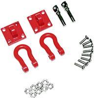 Absima Aluminium shackle w/mounting bracket 1:10