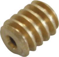 Messing Micro-wormwiel Module 0.2 S1 (Ø x l) 2.8 mm x 3.5 mm 1 stuks