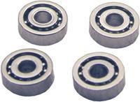 Staal Micro-kogellager K2 Gesloten (Ø x h) 5 mm x 2.2 mm 4 stuks