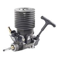 Forceengine Force Engine nitromotor 25 Black Series vermogen 2.1 pk / 1.54 kW cilinderinhoud uitlaatpoort Achterkant