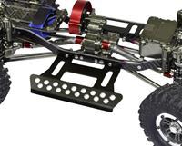 Absima Aluminium Foot Step for Crawler 1:10 - Zwart