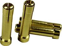 Reely Adapterstekker [1x 4 mm gouden contactstekker - 1x 5 mm gouden contactstekker]