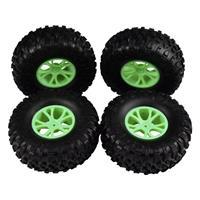 Reely 1:10 Buggy Complete wielen Block-Profiel Y-spaken Groen 4 stuks