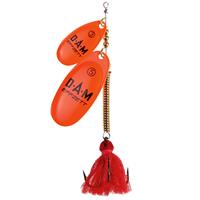 Dam Shallow Runner Tandem - 11 cm - fluo orange
