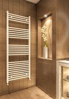 Eastbrook Wingrave verticale verwarming 80x40cm Mat wit 374 watt