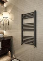 Eastbrook Wingrave verticale verwarming 100x40cm Antraciet 419 watt