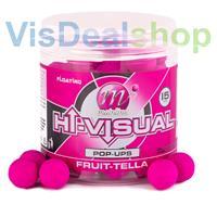 Mainline Hi Visual Pop-ups - Pink Fruit-tella - 15mm