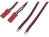 Accu Kabel [2x BEC bus - 2x Open einde] 0.50 mm ² Modelcraft