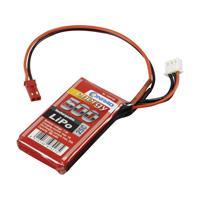 Conrad energy LiPo accupack 7.4 V 500 mAh Aantal cellen: 2 25 C Stick BEC