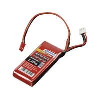 Conrad energy LiPo accupack 7.4 V 1000 mAh Aantal cellen: 2 25 C Stick BEC