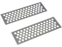Absima Metal Sand Plate - silver
